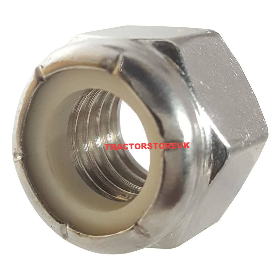 Self Locking Nut >> Imperial Self Locking Nut Size 5 8 Unf