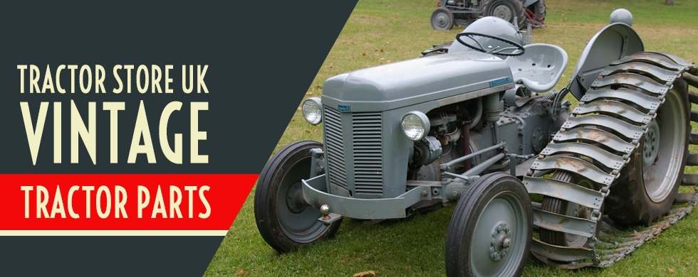 tractor store uk vintage parts promotional banner