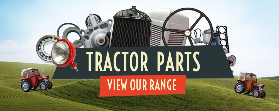 tractor parts banner